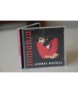 CD, ANDREA BOCELLI, ROMANZA Album, 1996 - $15.00