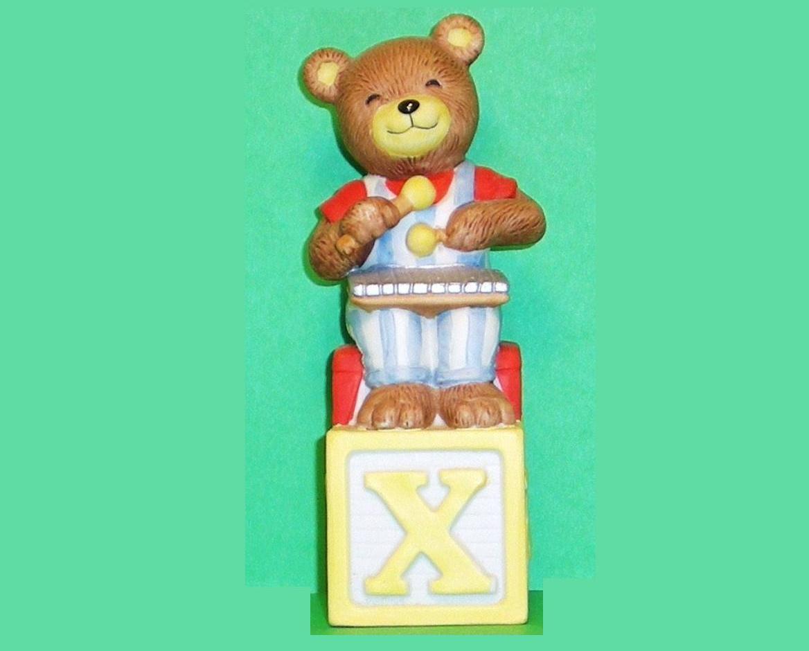 Alpha Block Bears Bronson Collectibles block X 1994