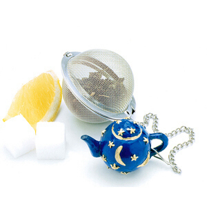 Mesh Teaball with Celestial Teapot Weight
