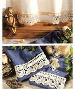 Y201 Crochet PATTERN ONLY Scalloped Curtain and... - $7.45