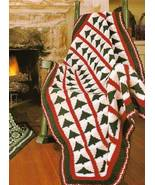 Y264 Crochet PATTERN ONLY Christmas Tree Afghan... - $7.45