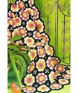 Y292 Crochet PATTERN ONLY Flamenco Dancer Afgha... - $8.45