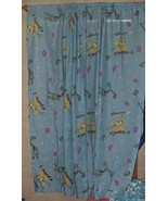 Nickolodeon Spongebob Squarepants Draperies Window Curtains 62 x 39 Two Panels