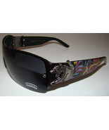 Black Tattoo Designer Wrap Sunglasses Panther Snake Von Dolce Brand Men Womens - $10.99