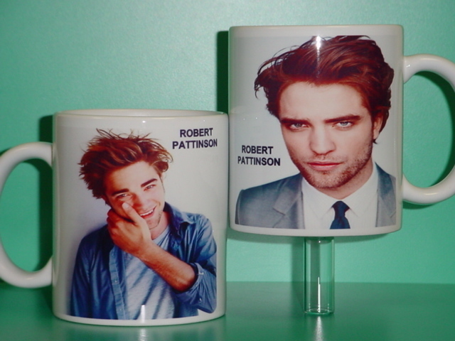 Robert Pattinson Twilight New Moon Eclipse Breaking Dawn 2 Photo Collectible Mug