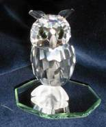 1996 Swarovski Silver Crystal Night Owl  No. 20... - $150.00