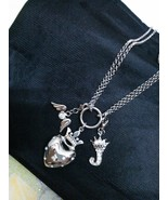 LOVE Heart Pendant Necklace Detachable Lockets ... - $17.99