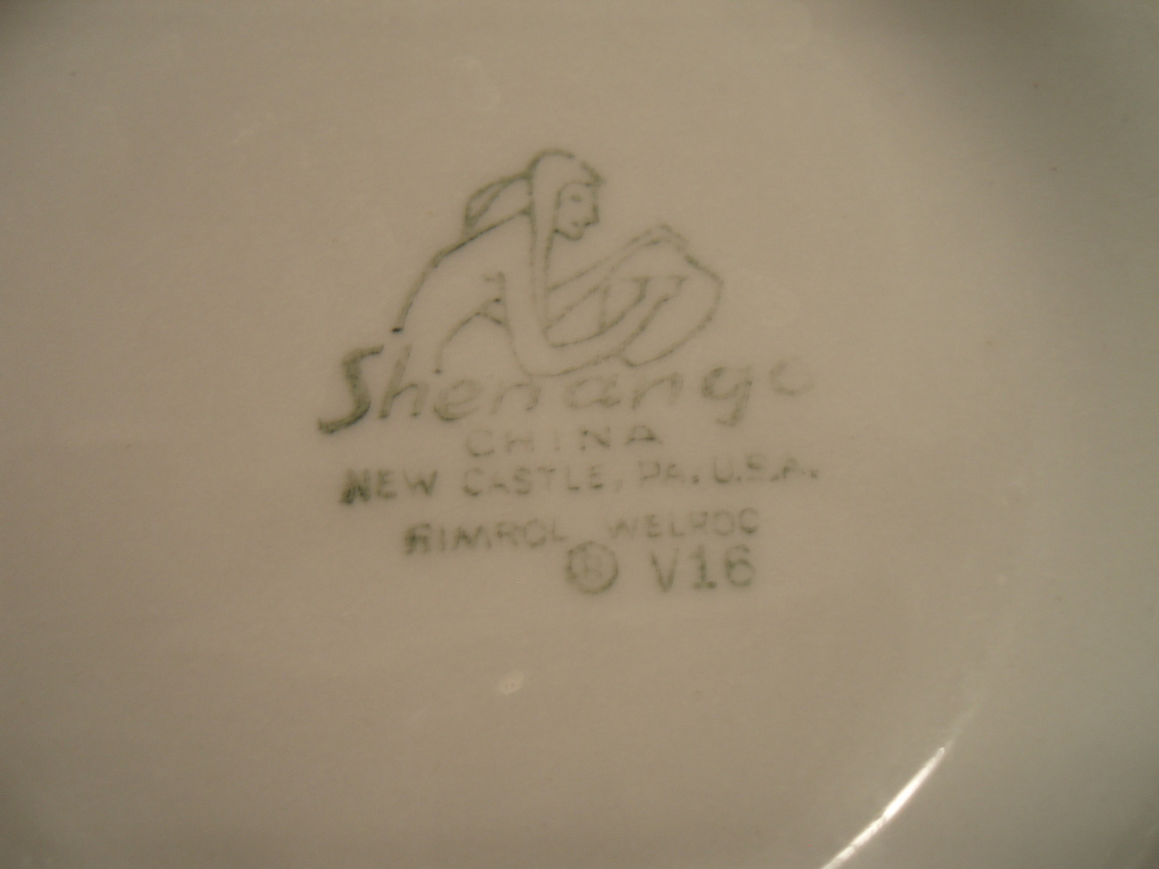 Image 3 of Shenango China cereal bowl Lawrence V16 restaurant ware