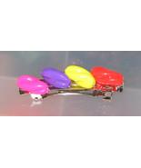 Colorful Twisty Sticks Kids Barrette - Pink Pur... - $3.75