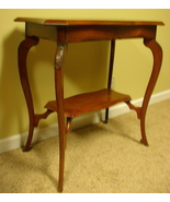 Antique Two-Tier Occasional Table, Edwardian, E... - $125.00