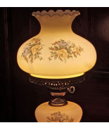 Gorgeous Vintage GWTW Heavy Glass Shades with F... - $165.00