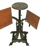 RARE 1880 Victorian Eastlake Gilt Iron+Wood Dou... - $2,985.00
