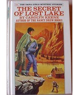 Dana Girls #11 THE SECRET OF LOST LAKE white sp... - $24.00