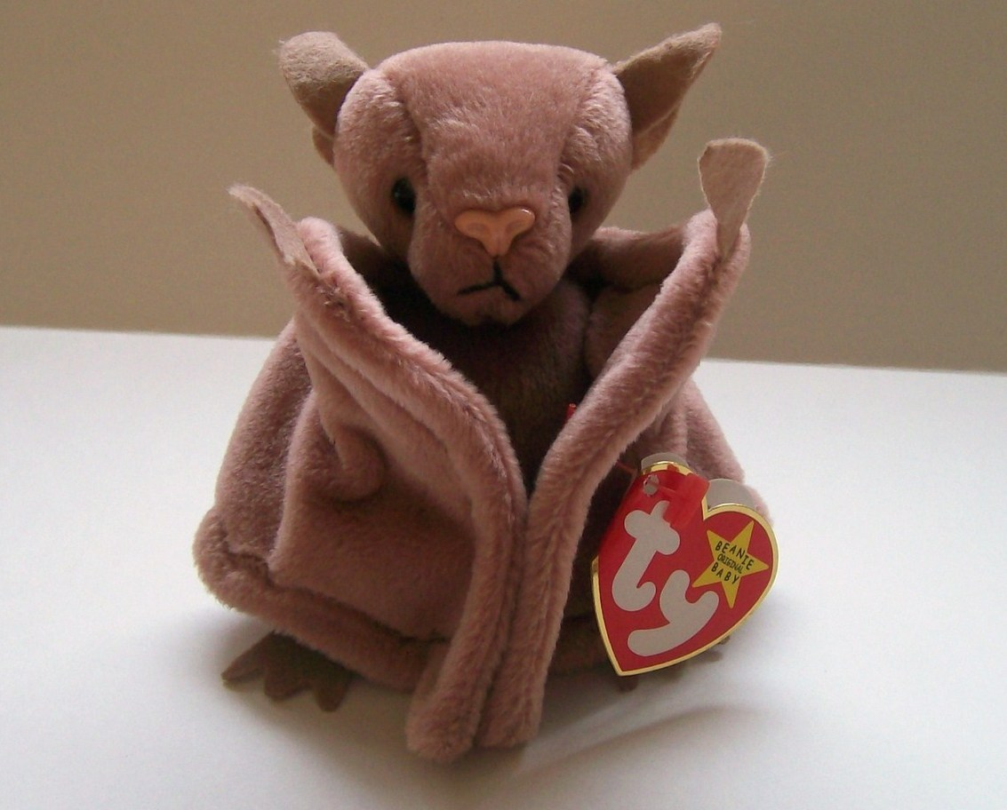 Ty Beanie Baby Batty the Bat Retired DOB 10 29 1996 New With Tags