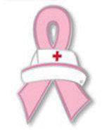 Breast Cancer Pink Ribbon Nurse Cap Red Cross P... - $10.97