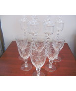 Vintage Wine w/Lid and Water Crystal Stemware - $260.00