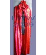 Red Velvet Halloween ADULT Cape Cloak 48