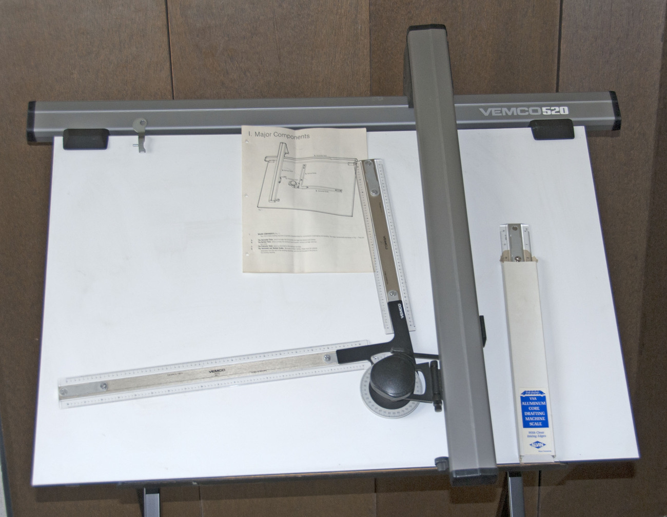 left handed drafting machine