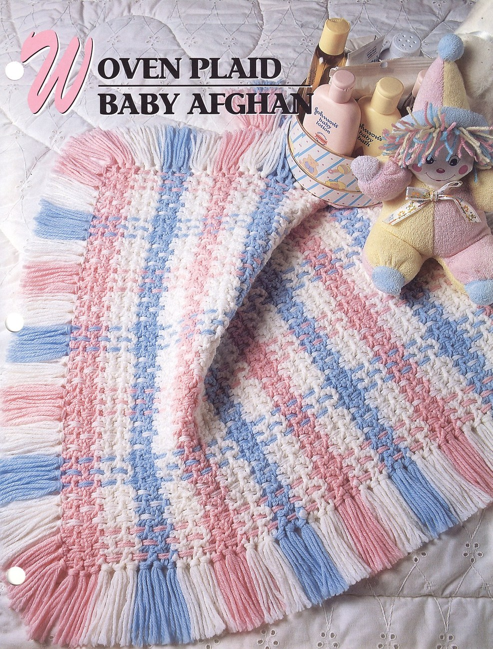 Woven Plaid Baby Afghan Crochet Pattern Blanket Annies ...