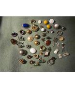 Vintage broken jewelry for crafts rhinestones - $20.00