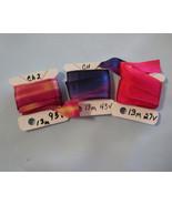 China Silk Hand Dyed Ribbon 13mm 3 packs - $14.88