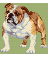 Latch Hook Rug Pattern Chart: ENGLISH BULLDOG -... - $5.75