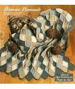 Y446 Crochet PATTERN ONLY Delaware Diamonds Pil... - $6.45