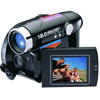 Mitsuba DV9002 12MP 8x Digital Zoom Camera/Camcorder (Black)