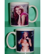 Celine Dion 2 Photo Designer Collectible Mug 02 - $14.95