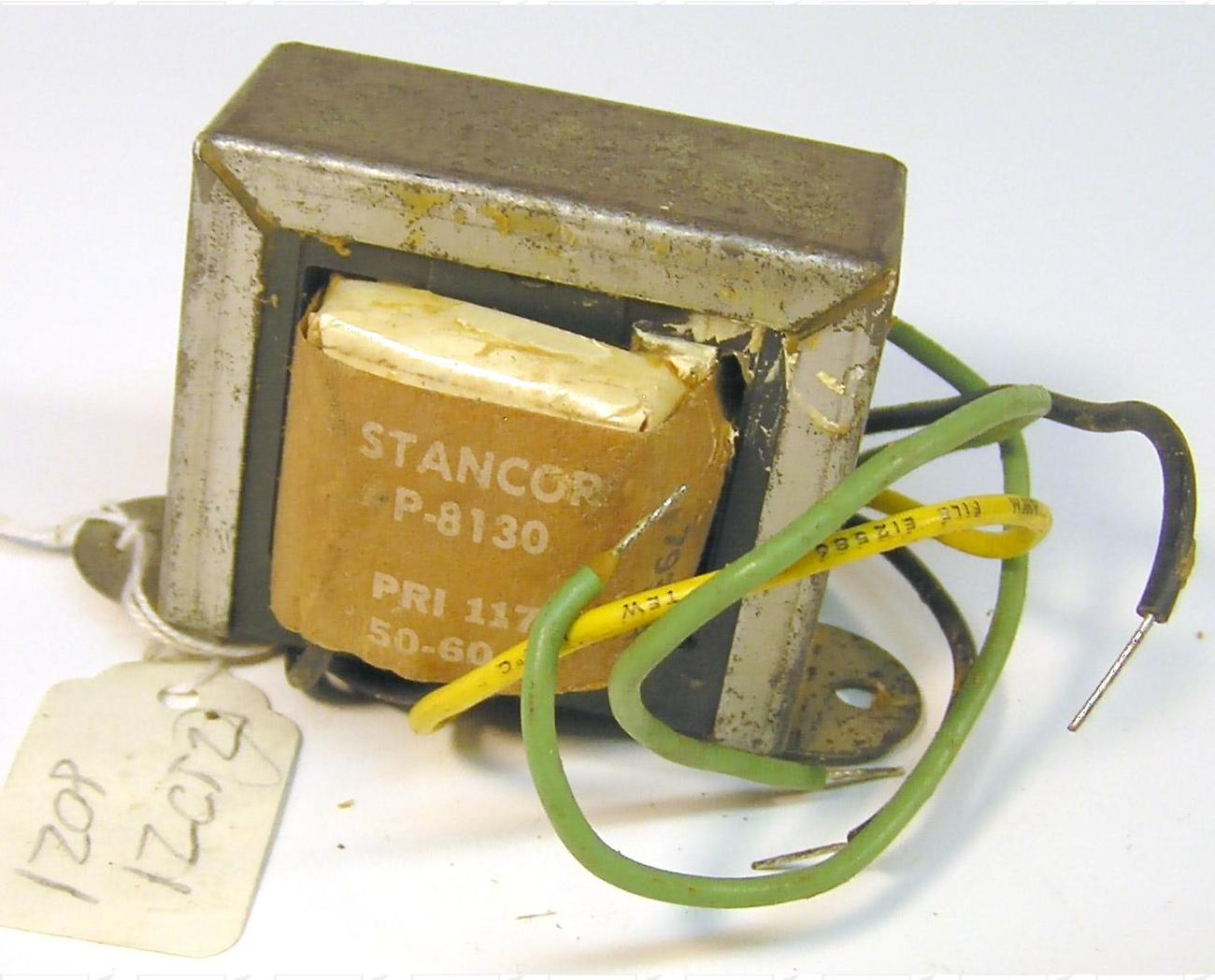 Filament Transformer 117 VAC To 12.6 VCT 2 A Stancor P-8130