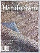 Handwoven Magazine 1991 - March