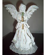 Angel Statue Trimmed Gold - Religion,Spiritual,Holidays