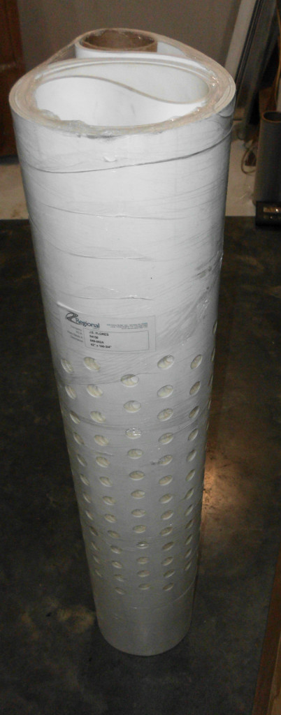 "~ Perforated Conveyor Belt 42"" x 100-3/4"" New   B"