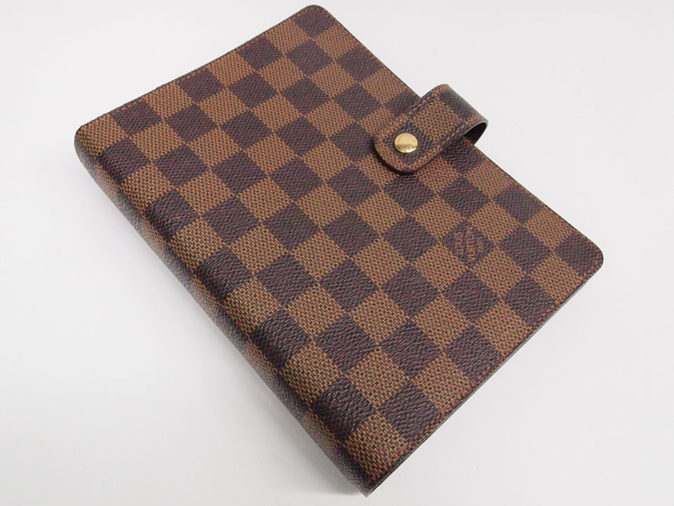Authentic Louis Vuitton Damier Agenda Fonctionnel MM