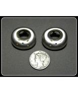 925 Sterling Silver Diamond Earrings Blue Yello... - $50.00