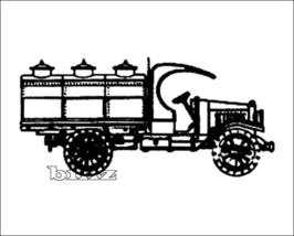OnTrak HO 5127 - 1919 Kleiber Open Cab Tank Tru... - $39.50