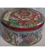 Christmas Cookie Tin vintage - $6.00
