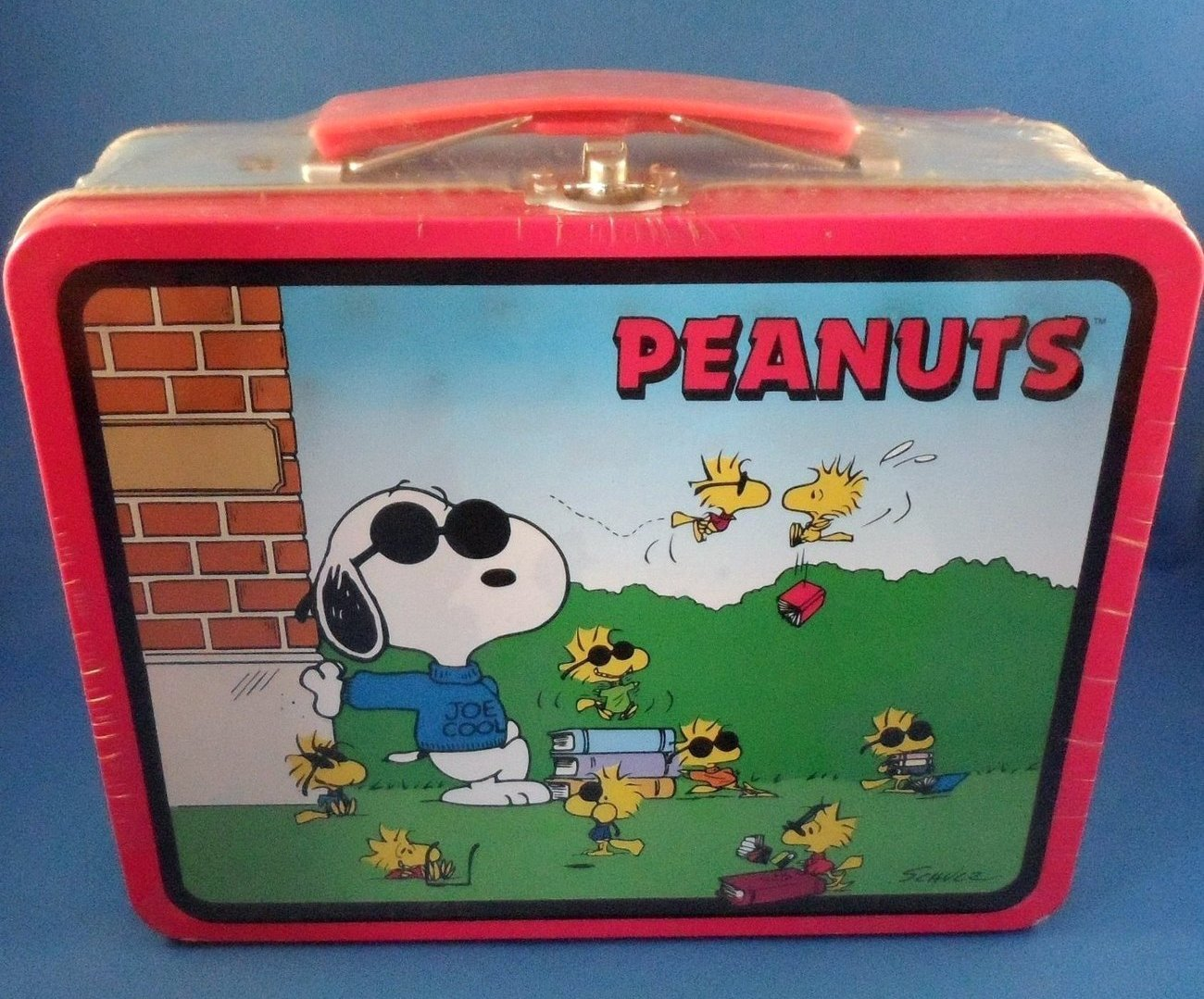 Snoopy Peanuts Tin Lunch Box Joe Cool Limited Edition 1998 Sealed