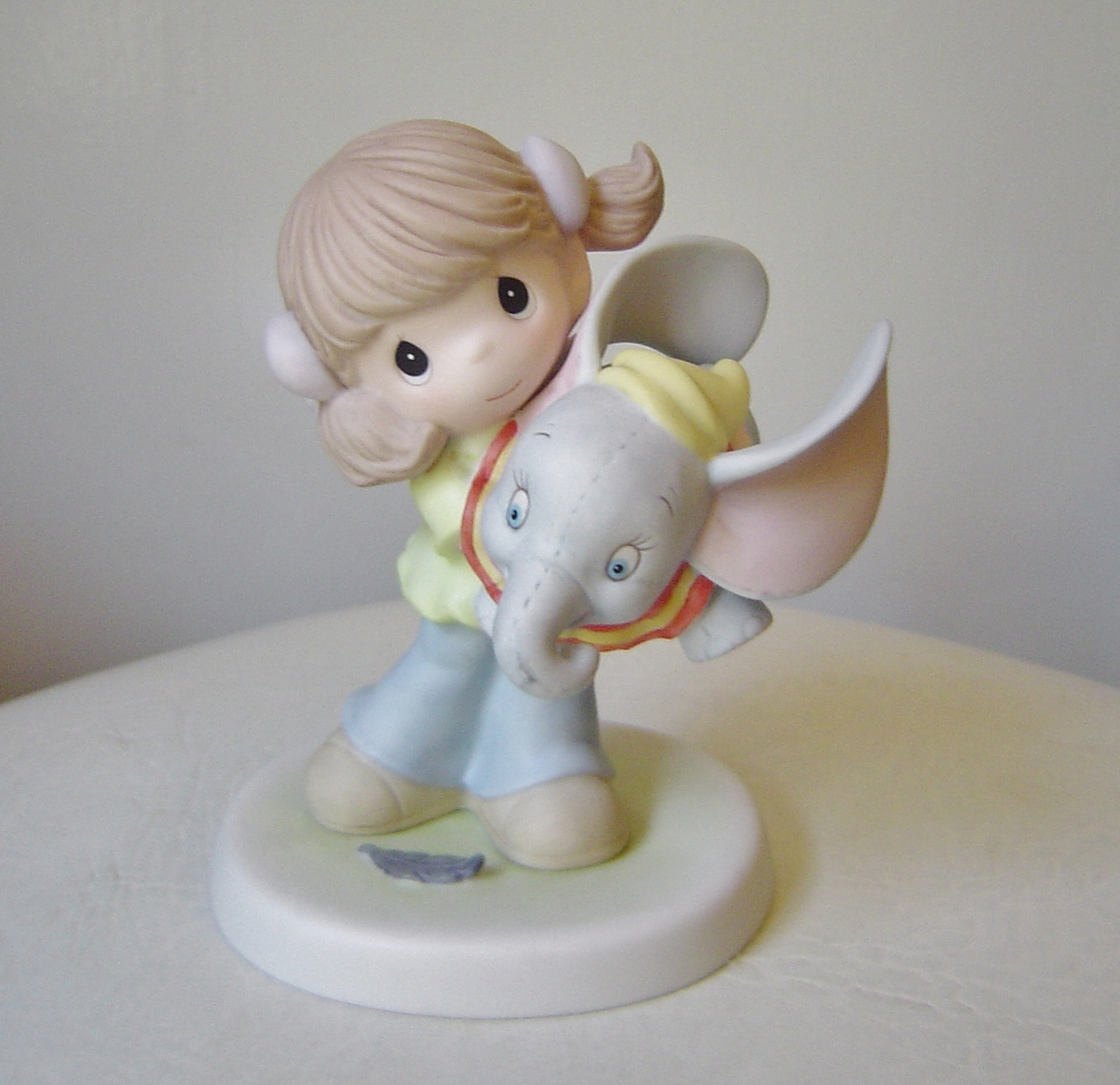 Precious Moments Now You Can Fly Disney Dumbo Figurine