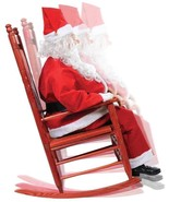 Santa Claus Animated Rocking Chair Life Size El... - $199.00