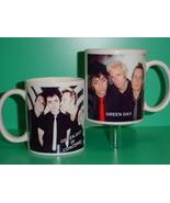 Green Day 2 Photo Designer Collectible Mug - $14.95