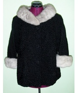 Woman's Vintage Persian Lambs Wool and Silver G... - $179.00