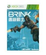 Brink, xbox 360  game - $39.90