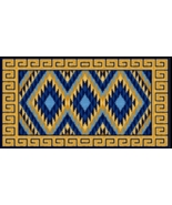 Latch Hook Rug Pattern Chart: PUEBLO- EMAIL2u - $5.75