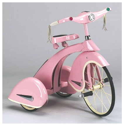 Retro Sky King Princess Tricycle Kids Pink Bike trike