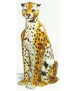 Intrada Cheetah Figurine Italian Safari I Colle... - $675.00