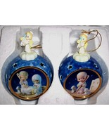 "Precious Moments "",A Savior Is Born"" Hairloom Porcelain Ornament Collection  #1"