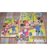 1986 Disney Mickey and Minnie 100 Piece Golden Puzzle - $5.00