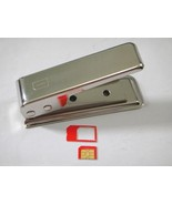 iPad iPhone 4Micro Sim Card Cutter Stainless S... - $6.99