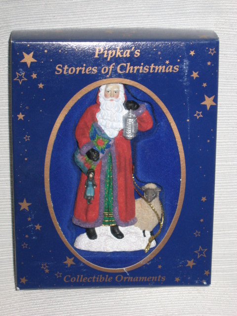 1997 Pipka Stories of Christmas Amish Country Santa #11416 Ornament w/ Orig. Box